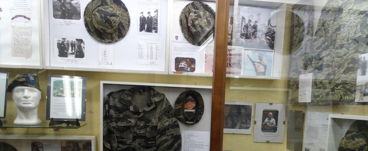 Museo de la Guerra del Vietnam único en Europa!